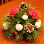 holiday-flower-arrangement