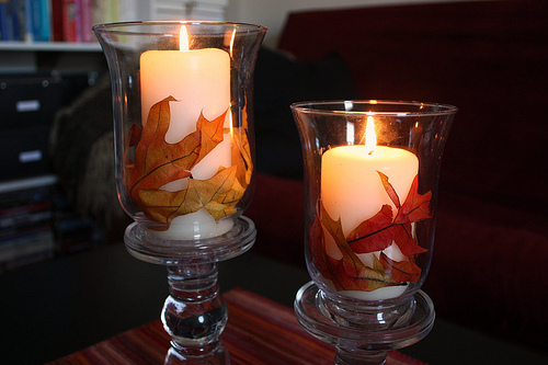 autumn-candle-holders