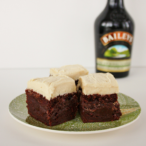 Frosted Irish Cream Brownies for My Birthday! - Life at Cloverhill