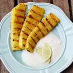 Grilled Pineapple with Whipped Coconut Cream