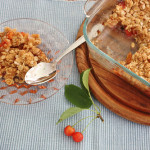Sour Cherry Brown Betty