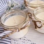 DIY Mason Jar Soy Candles
