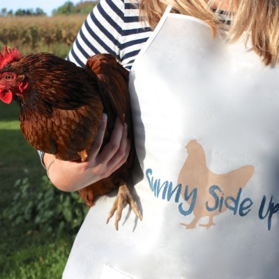 Sunny Side Up Chicken Apron