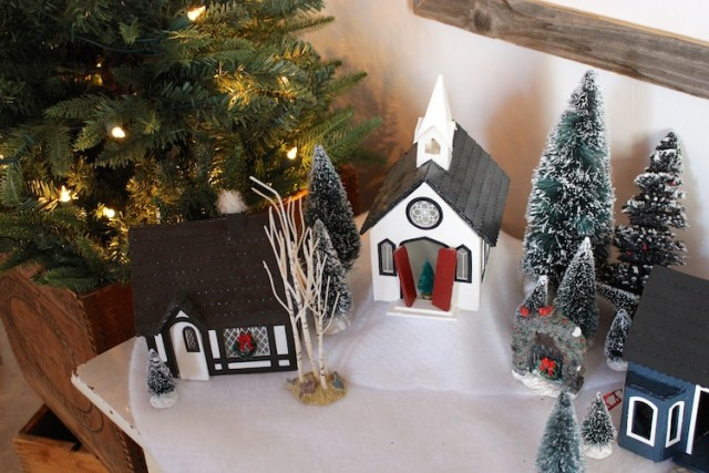 christmas-village-church