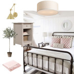 One Room Challenge Week 1: Farmhouse Master Bedroom Inspiration Board