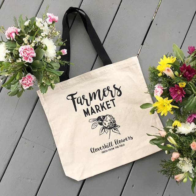 cloverhill-flowers-canvas-tote-farmers-market