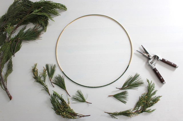 brass-ring-christmas-wreath-greens